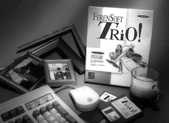 FerenSoft Trio!(TM) Gallery and FrameShop Management Suite Software Package